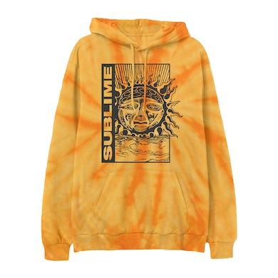 Gold Tie-Dye Sublime Hoodie