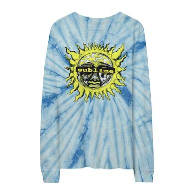 Sublime Blue Tie-Dye Sun Longsleeve