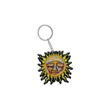 Sublime Sun Rubber Keychain