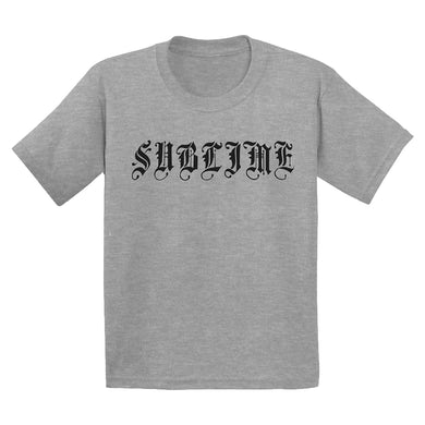 Sublime Logo Gray Toddler Tee
