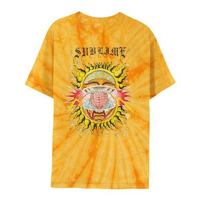 Sublime Mind-Blown Sun Gold Tie-Dye Tee