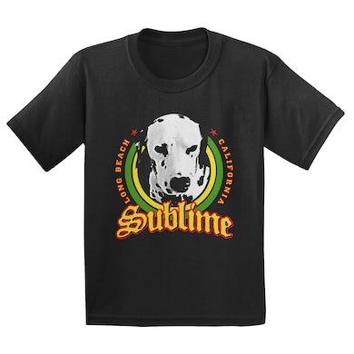 Sublime Lou Dog Black Tee
