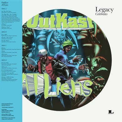 Outkast ATLiens Picture Disc