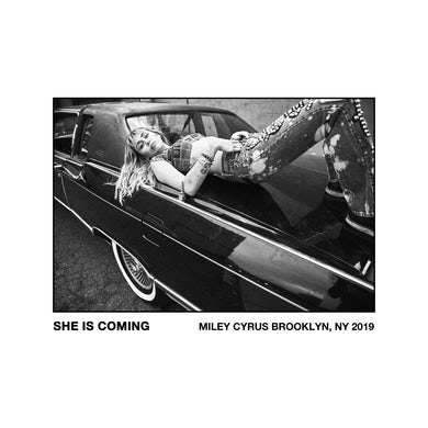 Miley Cyrus She Is Coming Poster