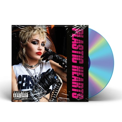 Miley Cyrus Plastic Hearts color photo CD