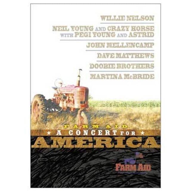 John Mellencamp Farm Aid 2001  Concert For America DVD