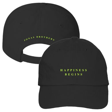 Jonas Brothers HAPPINESS BEGINS HAT - BLACK