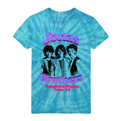 Jonas Brothers THROWBACK TOUR TEE