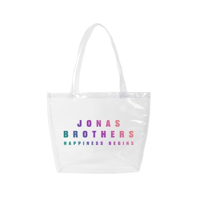 Jonas Brothers HAPPINESS BEGINS TOTE