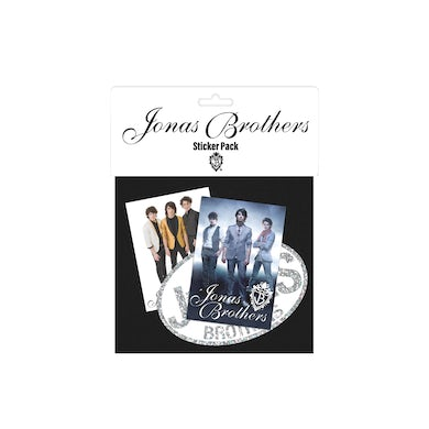 Jonas Brothers Throwback Sticker Pack