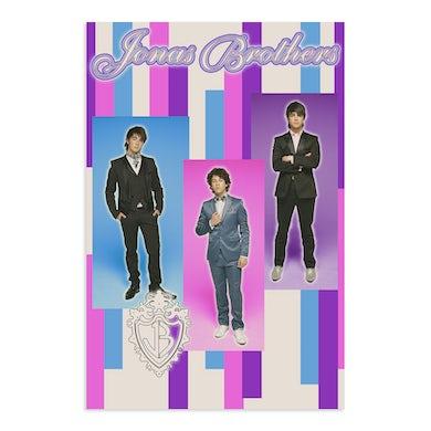 Jonas Brothers TEAM JONAS VINTAGE POSTER
