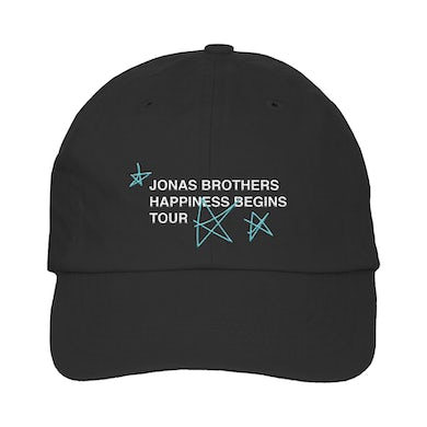 Jonas Brothers HAPPINESS BEGINS TOUR ANNIVERSARY HAT