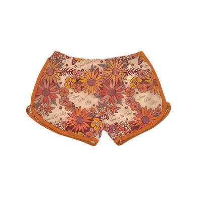 Lana Del Rey Vintage Floral Short Shorts