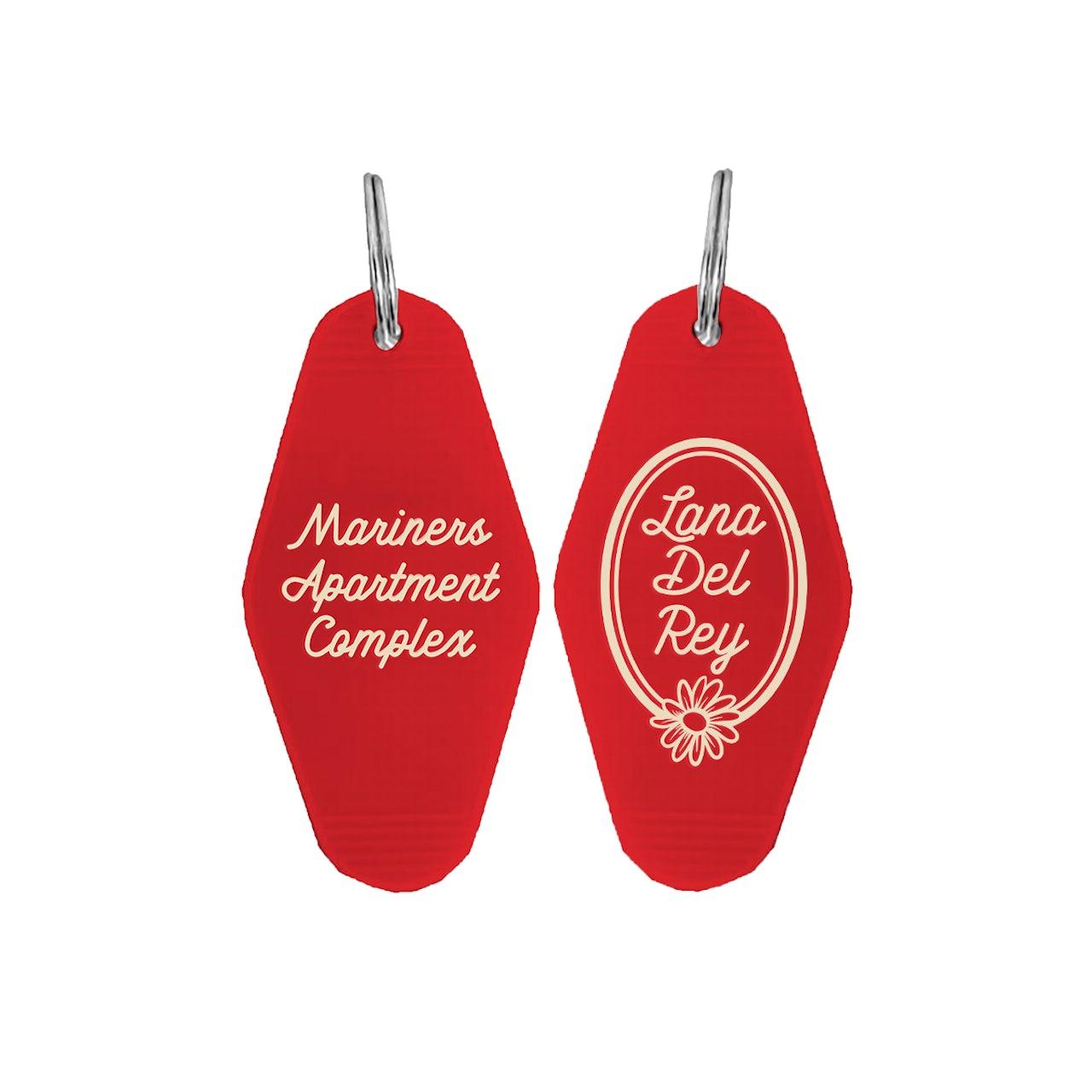 Lana Del Rey Mariners Apartment Complex Keychain