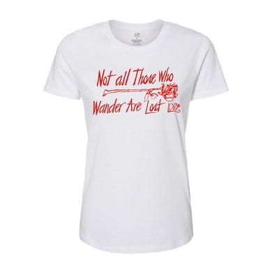Lana Del Rey Not All Those Who Wander Tee