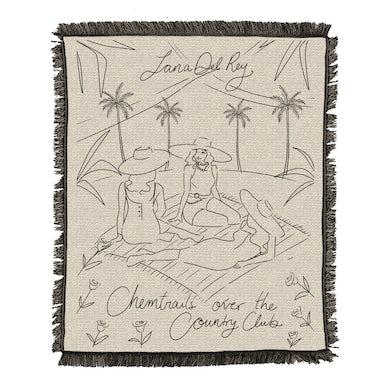 Lana Del Rey Chemtrails Blanket