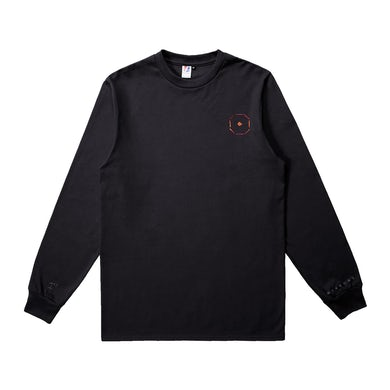 Jackson Wang BULLET TO THE HEART Black L/S