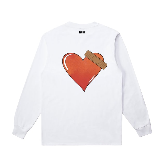 Jackson Wang BULLET TO THE HEART White L/S