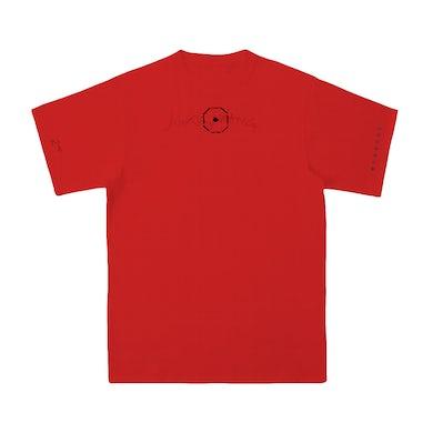Jackson Wang MIRRORS Red T-Shirt