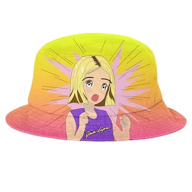 DUA LIPA Gradient Manga Bucket Hat