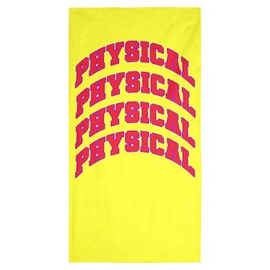 Dua Lipa PHYSICAL BEACH TOWEL