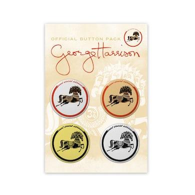 George Harrison Dark Horse Records Button Packs
