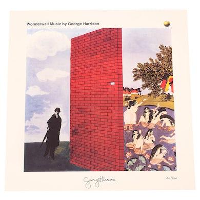 George Harrison Wonderwall Litho