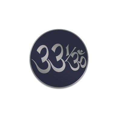 George Harrison 33 1/3 Logo Enamel Pin