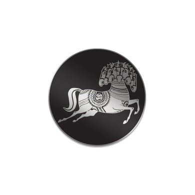 George Harrison Dark Horse Logo Enamel Pin