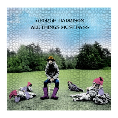 George Harrison All Things Must Pass Jigsaw Puzzle