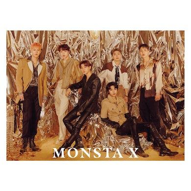 Monsta X Golden Hour Poster