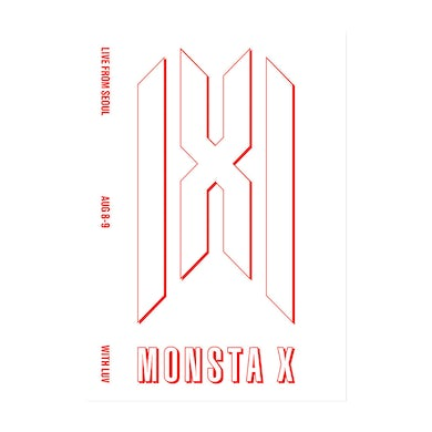 Monsta X Live From Seoul With Luv Postcard Set