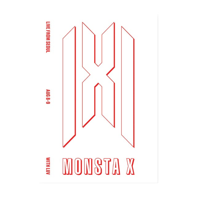 Monsta X Logo Tee Black Lihat ide lainnya tentang kutipan anak perempuan, monsta x, latihan bokong. merchbar