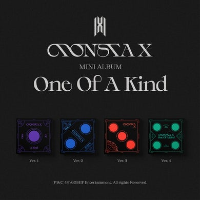 MONSTA X  One of a Kind CD