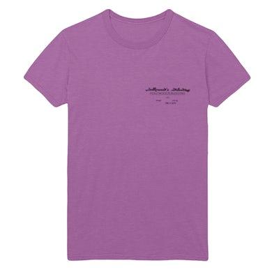 Post Malone Sword Tour Tee - Purple