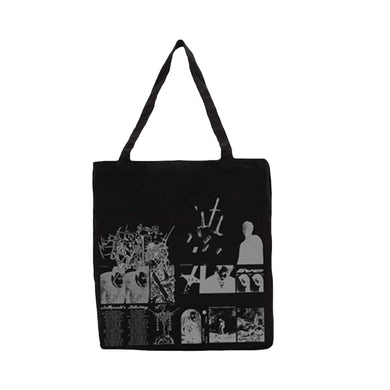 Post Malone Runaway Tour Black Tote