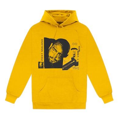 Post Malone Posty Co Screw Hoodie - Yellow