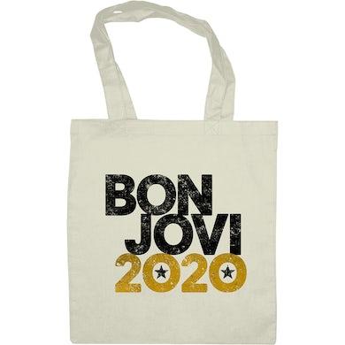Bon Jovi 2020 Tote Bag Natural