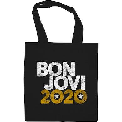 Bon Jovi 2020 Tote Bag Black