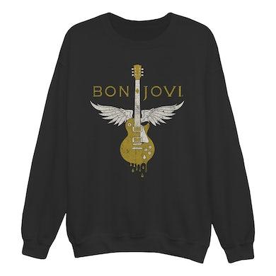 Bon Jovi Wanted Dead or Alive Crewneck