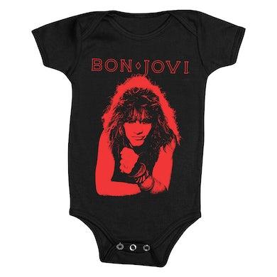 Bon Jovi Vintage Portrait Onesie
