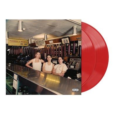 Haim Women in Music Pt. III Red Opaque Vinyl