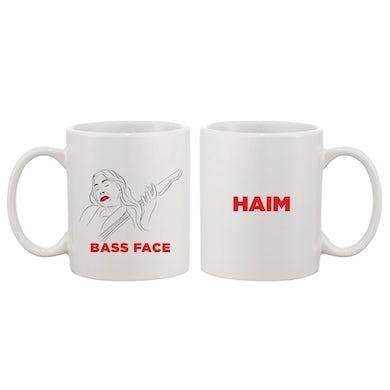 Haim Bass Face Coffee Mug