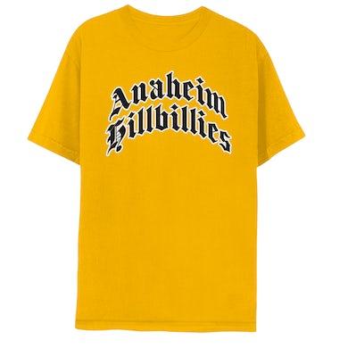 Gwen Stefani Anaheim Hillbillies Yellow T-Shirt