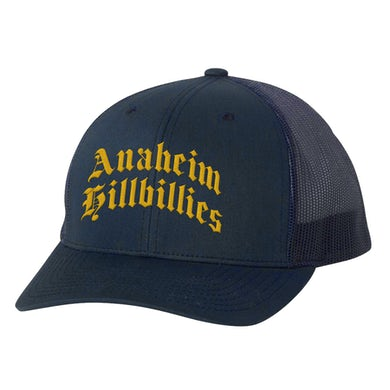 Gwen Stefani Anaheim Hillbillies Navy Hat