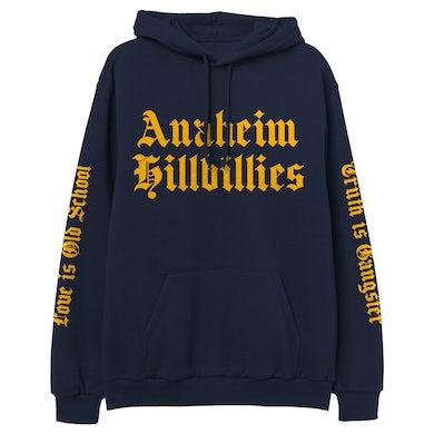 Gwen Stefani Anaheim Hillbillies Navy Pullover Hoodie