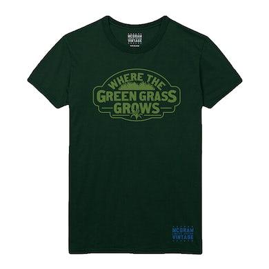 Tim McGraw VINTAGE MCGRAW Green Grass Tee