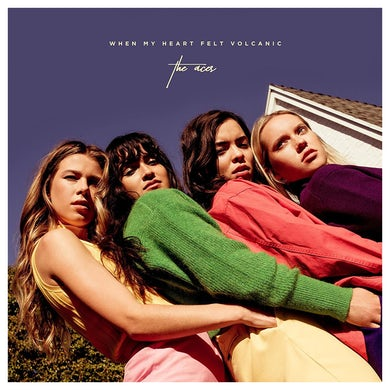 The Aces When My Heart Felt Volcanic Double LP - Limited Edition Clear Vinyl