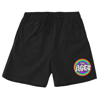 The Aces Candy Pride Shorts - Black