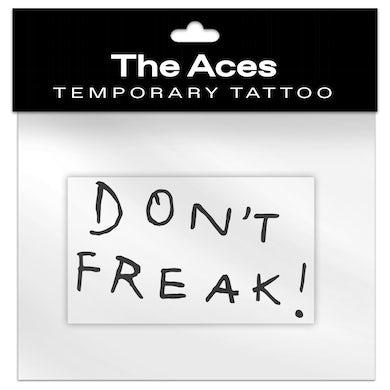 Don't Freak Temporary Tattoo